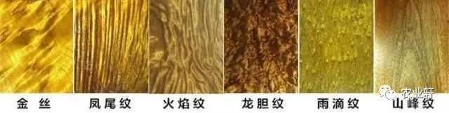 美轮美奂的金丝楠木10种纹理,你认识几种?